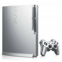 Grey PS3 Slim 320 GB +34 игры+FIFA19+2 джойстика