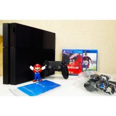 Sony Playstation 4 500gb + DriveClub & FIFA15 Б/У