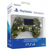 Беспроводной геймпад PS4 Ver.2 Green Camouflage