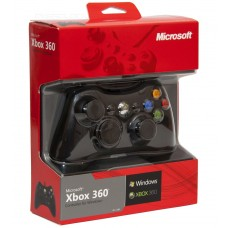 Проводной геймпад для Xbox 360 (Black)